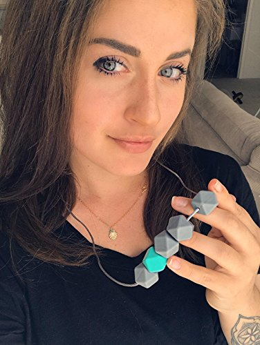 Teething Necklace Silicone Beads Designed product image