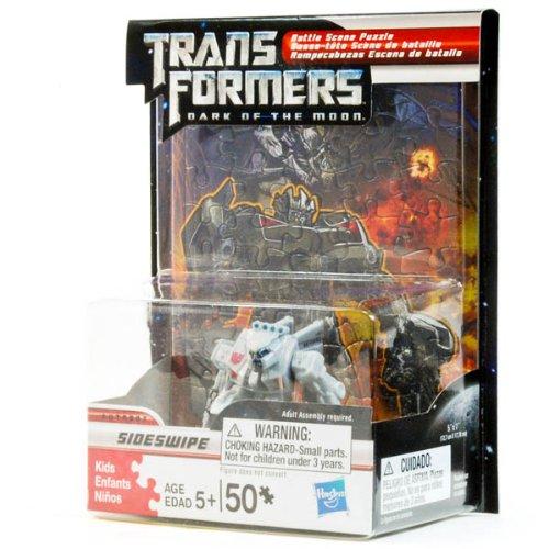 Transformers Dark of the Moon Battle Scene Puzzle