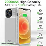 GIN FOXI Battery Case for iPhone 12 Pro Max, Real