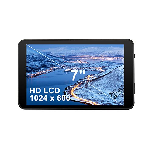 Azpen 7 inch Quad Core Android 6.0 Marshmallow Tablet HD LCD 1GB RAM 8GB Storage Bluetooth eBook Game Google Play