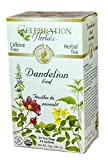 CELEBRATION HERBALS Dandelion Leaf Tea Organic 24 Bag, 0.02 Pound