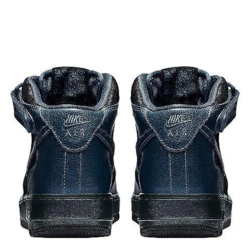 sports shoes 4036d 5428e on sale Nike Air Force 1 07 Mid Premium Women s Shoe (Blue) 805292-