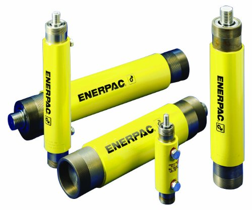Enerpac RD-43 Double-Acting Precision Hydraulic Cylinder with 4 Ton Capacity, Double Port, 3.13'' Stroke Length by Enerpac