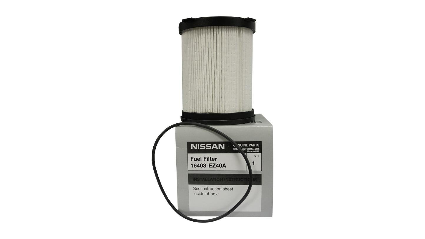 Genuine Oem Nissan Titan Xd 50l Diesel Fuel Filter Kit Compact Filters Water Separators Automotive