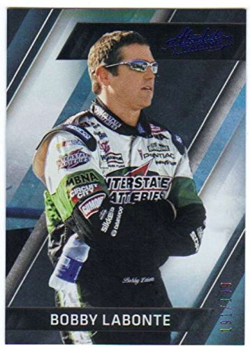 2017 Panini Absolute Racing Spectrum Blue/199#9 Bobby Labonte