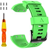 ANCOOL Band Compatible with Garmin Forerunner 35,Soft Silicone Watch Band Sport Strap for Garmin Forerunner 35…