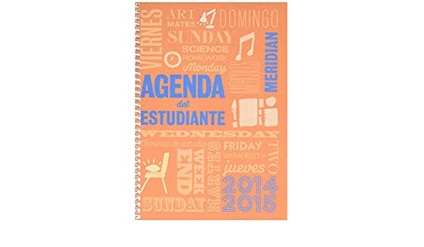 Amazon.com : ADT A132 Agenda Meridian A5 SV Spanish : Office ...