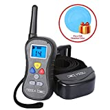 Noza Tec Upgraded Best Dog Training Shock Collar with Remote, Wireless Rainproof Electric Beep Vibration Shock Collars with 1-click Handling 16 Levels Shock & Vibration E Collar for Dogs