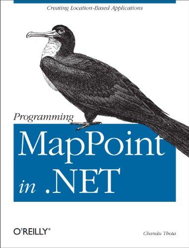 Programming MapPoint in .NET Pdf