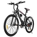 51cYp6E 8JL. SS150 Vivi Bicicletta Elettrica Mountain Bike Elettrica per Adulti, 26 Pollici Bici Elettriche 350W Ebike con Batteria agli Ioni di Litio Rimovibile 8Ah, Professionali a 21 velocità