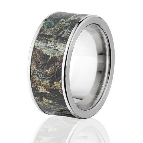 - Realtree Advantage Timber Camo Rings, 10mm Wide Realtree Titanium Band