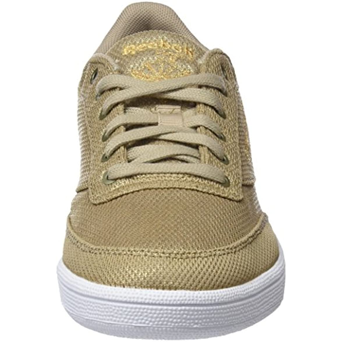 Metallic Reebok Mesh 85 C Club Sneaker Donna