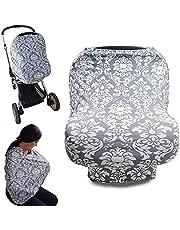 Manta para amamantar 4 en 1, Funda para porta bebe o carriola, bufanda, cubre silla, cubierta de lactancia, varios modelos, elegancia y estilo