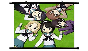 A-Channel Anime Fabric Wall Scroll Poster (32x32) Inches [TJ]- A-Channel-7(L)