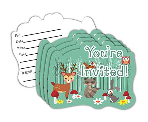 Animals Birthday Party Invitation - 4