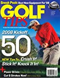 img - for Golf Tips, February/March 2008 Issue book / textbook / text book