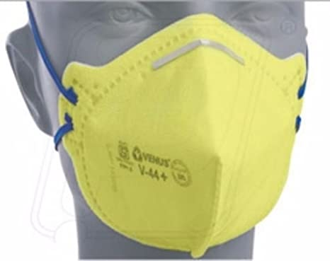 Mask Amazon Industrial V-44 Venus Ffp1s in Respirator yellow