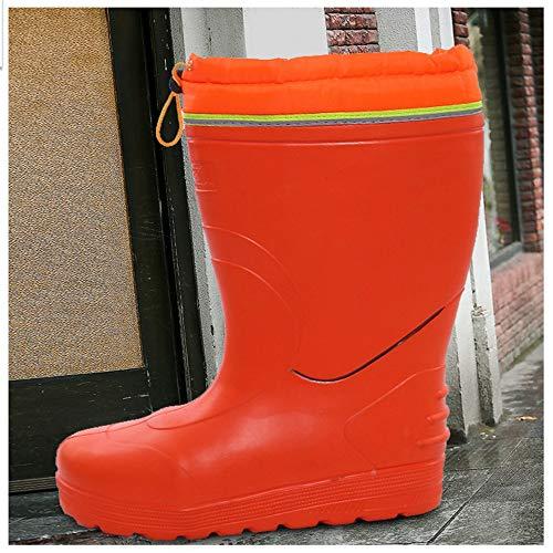 da lavoro a a Scarpe pioggia alto Stivali EU tubo a pioggia Boot lungo Dimensione pioggia da Hunter tubo 3 da 43 Scarpe 1 w470vcqXA
