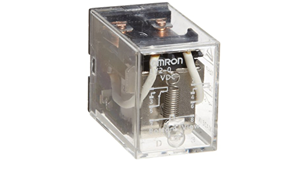 Standard Type Double Pole Double Throw Contacts 9.9 to 10.8 mA at 50 Hz and 8.4 to 9.2 mA at 60 Hz Rated Load Current Omron LY2-0-AC110//120 General Purpose Relay PCB Terminal 110 to 120 VAC Rated Load Voltage Double Contact Standard Bracket Mounting