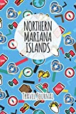 Northern Mariana Islands Travel Journal: 6x9 Travel planner I Road trip planner I Dot grid journal I Travel notebook I Travel diary I Pocket journal I Gift for Backpacker
