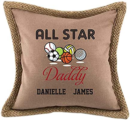 Amazon.com: Style In Print Personalized Custom Text Dad All ...