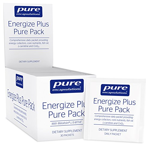 Pure Encapsulations - Energize Plus Pure Pack - Dietary Supplement for Cellular Energy Production and Nutrient Metabolism* - 30 Packets