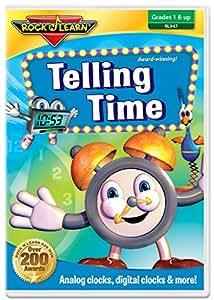 Amazon.com: Telling Time DVD by Rock 'N Learn: Rock 'N ...