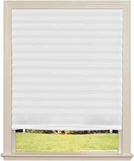 "product image for Original Light Filtering Pleated Fabric Shade White, 48"" x 72"""