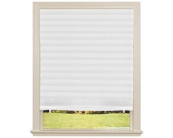 Original Light Filtering Pleated Fabric Shade White 36 X 72