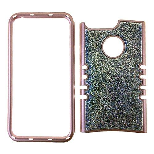 Google-Pixel-XL-Rocker-Series-Kool-Kase-Crystal-Design-Small-Glitter-Gray-Gold
