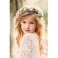 Child Flower Crown - Flower Wreath - Flower Girl - Flower Halo