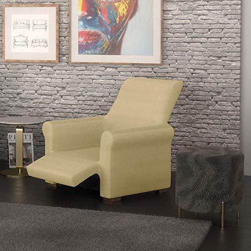 PETTI Artigiani Italiani Arena, Relax, Funda Sillon Elastica, 100% Made in Italy, 80 a 100 cm