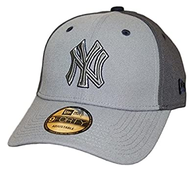 """New York Yankees New Era MLB 9Forty """"The League Pop"""" Adjustable Hat - Gray from New Era"""