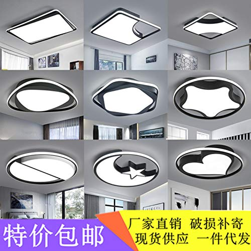 Schlafzimmerdeckenlampe moderner minimalistischer minimalistischer minimalistischer runder Schmiedeeisen, J-Abschnitt -50  50, dreifarbiger variabler Abschnitt b770d1