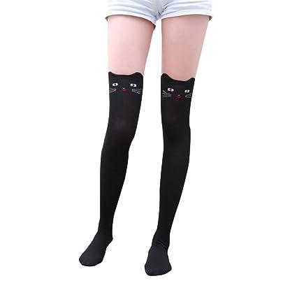 Calcetines altos mujer