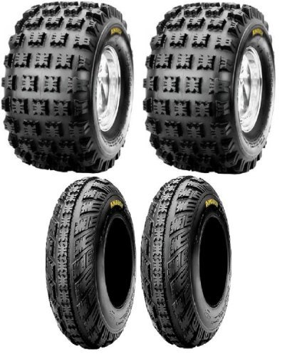 NEW Front & Rear ATV 4 Tires Tire Set 20X10/9 21X7/10 20x10x9 21x7x10 Honda 250R 400EX 450R ATC TRX Yamaha Raptor YFZ450 ()