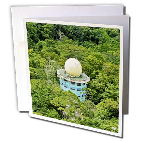 Kike Calvo Panama - Canopy Tower Birdwatching Eco Lodge Soberania National Park Panama - 12 Greeting Cards with envelopes (gc_10454_2)