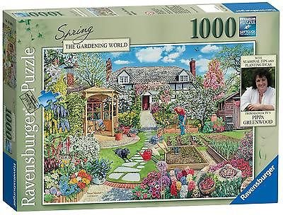 Ravensburger Gardening World Spring, 1000pc Jigsaw Puzzle
