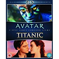 James Cameron's Avatar / Titanic 3D Blu-ray Double Pack