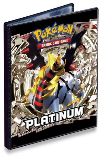 - Pokemon Ultra Pro Card Game Supplies 4-Pocket Portfolio Mini Binder - Platinum Giratina! Out of Print!!