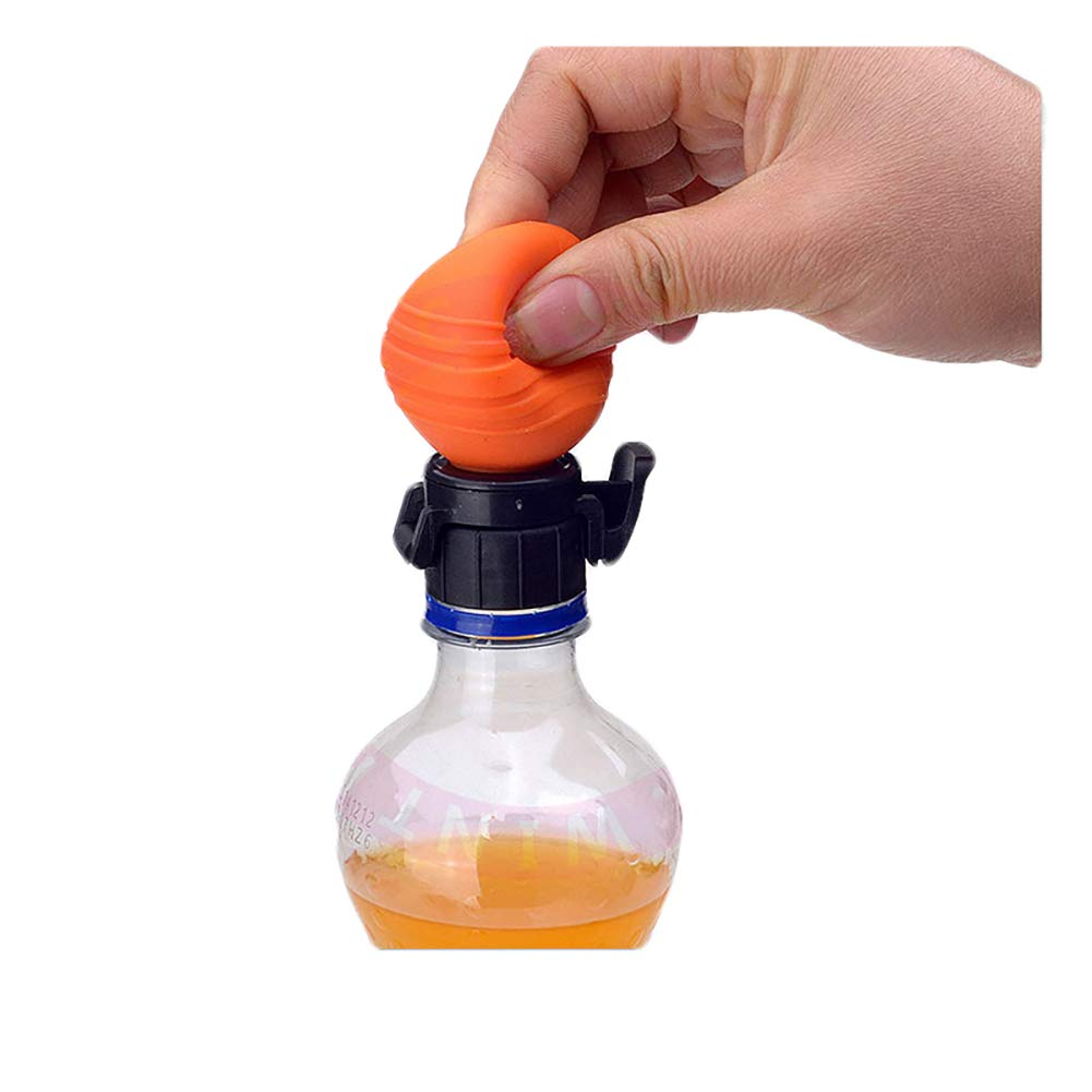 Creative Sealed Cap Plastic Bottle Sealer Fresh Pump & Pour Fizz Keeper 1Pcs Cotowin