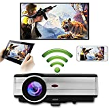 3500 Lumen Smart LED Home Wifi Projector Wireless LCD Android Projector Airplay HD