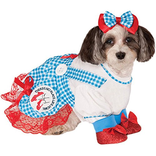Wizard of Oz Dorothy Small Pet Costume