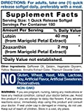 Lutein and Zeaxanthin 40 mg |180 Softgels | Eye