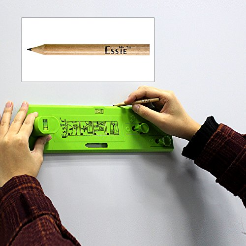 Esste Picture Frame Level Ruler - Suspension measurement marking position tool with a pencil for measuring the suspension and horizontal wall of the roof by Esste (Image #4)