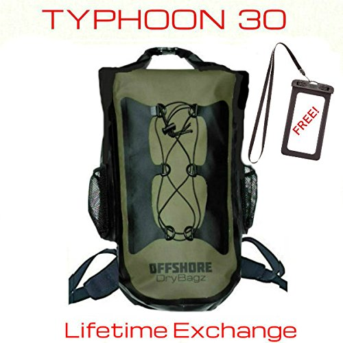 40824529aa72 OFFSHORE 30L Heavy Duty Waterproof Backpack Dry Bag   Cell Phone Case.  Boating