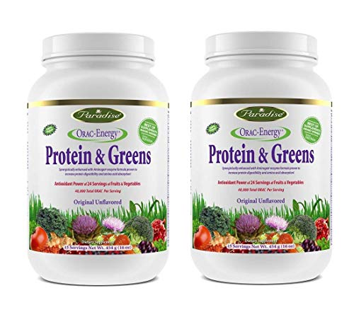 Paradise Herbs Orac Energy Protein Powder, Greens (Pack of 2) Review
