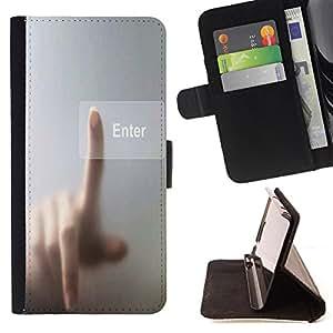 Jordan Colourful Shop - FOR Apple Iphone 5C - couldn??t handle the truth - Leather Case Absorci¨®n cubierta de la caja de alto impacto