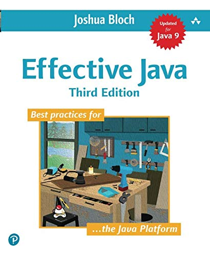 Effective Java (3rd Edition) - cover