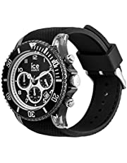 Ice-Watch - ICE Dune Black - Men's Wristwatch with Silicon Strap - Chrono - 014216 (Large)
